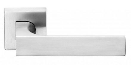 Frascio 620/50Q/SCP Tuke Door Handle On Square Rose Satin Chrome